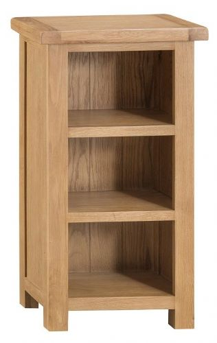 Chelmsford Oak Narrow Bookcase